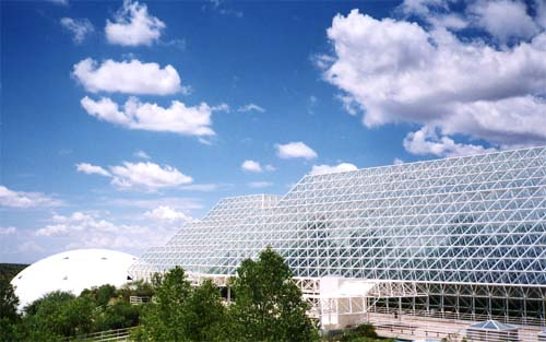 A picture of part of Biosphere 2