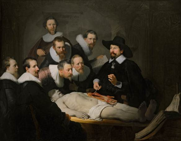 The Anatomy Lesson of Dr. Nicolaes Tulp (1631).