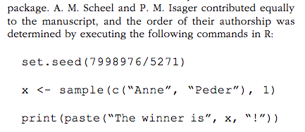 A.M. Scheel and P.M. Isager contributed equally to the manuscript and the order of their authorship was determine by executing the following commands in R
